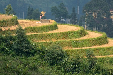 Sapa and its traditional villages in the countryside. Photos of Sapa.